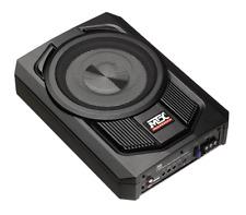 "MTX AUDIO TN8MS Terminator 8"" Micro Amplified Subwoofer Enclosure UNDER SEAT BOX"