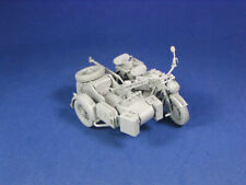 Lion Roar / GWH L3508 - 1/35 WWII German Zündapp KS 750 with Sidecar w/ trailers
