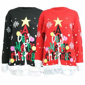 Unisex Mens Womens Ladies Novelty Christmas Light Up Xmas Vintage Jumper Sweater