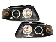 Fari VW Passat 3B 96-00 posizione angel eyes black