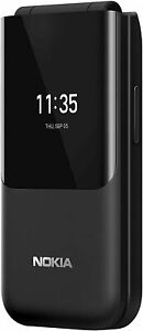 Nokia 2720 (4G/LTE, Flip Phone) - Black - OZ STOCK