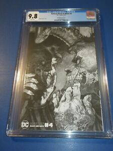 Batman Black and White #4 Bianchi Variant CGC 9.8 NM/M Gorgeous Gem Wow