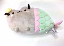 """Pusheen Gund 2016 Plush Mermaid Cat 12"""" x 8"""" Stuffed Animal Plush 4056242"""