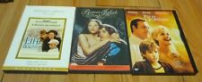 Pay it Forward, Life is Beautiful, Romeo and Juliet 3 Dvds mint condition!