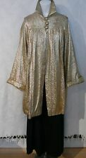 1920-30`s  Silver/Gold Hue Longer Formal Opera Jacket/Coat Neiman Marcus