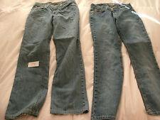 2 womens jeans-Authentic Brand Twenty X Wrangler S 3/4x30 & Cruel girl Slim-J8