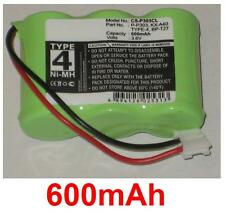 Batterie 600mAh TYPE 4  P-P303, KX-A40, BP-T27
