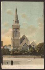 Hampshire. Southsea. St. Judes Church. 1905 Vintage FGO Stuart Postcard #1079
