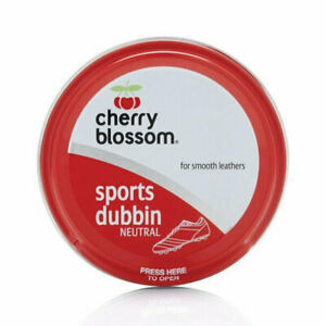 New Cherry Blossom Dubbin Neutral Sports Tin Ideal For Football Boots 50ml