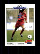 Michael Sternkopf  Bayern München Panini Action Card 1992-93 + A 183139