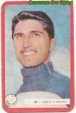 040 GEORGES LAMIA OGC.NICE FOOTBALL CARTE MIROIR SPRINT 1960's RARE