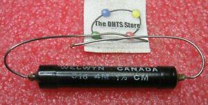 Welwyn C16 Precision 1W 4000000 Ohm 4M 1% Resistor - NOS Qty 1