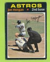 1971 Topps - Joe Morgan (#264)  Houston Astros  JM1