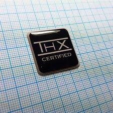 THX Certified - Domed Case Logo Sticker - 1 inch by 1 inch - 25.4mm / 25.4mm
