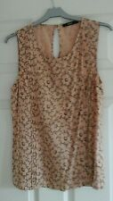 Oasis nearly new top size 10