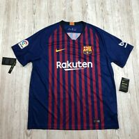 NIKE FC BARCELONA HOME STADIUM FOOTBALL SHIRT JERSEY Size XL 894430 456