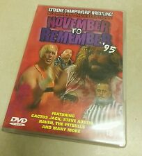 ECW NOVEMBER TO REMEMBER 95 RARE DVD 1995