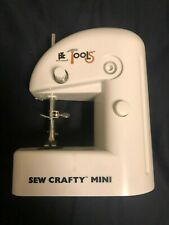Sew Crafty Mini Sewing Machine Lightweight Battery Operated Portable