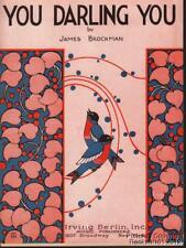1923 James Brockman Carpeta Lámina (You Darling You)