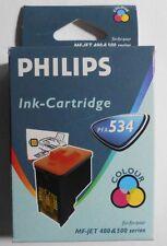 Original Philips PFA 534 Tinte 3 farbig für MF-Jet 440 450 460 485 495 500 OVP B