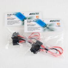 Nokya Heavy Duty Headlight Wiring Harness H4/9003/HB2/H4H/R702K  QTY=2 NOK9111