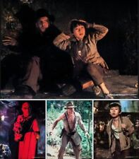 Indiana Jones And The Temple Of Doom set of 4 posters Spielberg Harrison Ford Nm