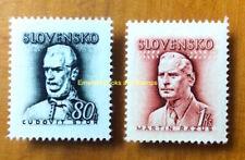 EBS Slovakia Slovensko 1944 Ľudovít Štúr Martin Rázus Michel 132-133 MNH**