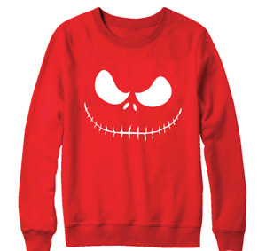 Monster Face Sweatshirt Scary Offensive Angry Rude Horrible Terrified Ghoul Gift