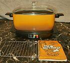Vintage West Bend Slo-Cooker Plus 6 Quart  Auto Cooker & Lid + Rack & Manual photo