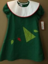 Girls 3T Boutique Jack & Teddy O Christmas Tree Dress NEW NWT $76 Cotton