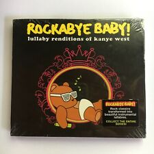 CD - ROCKABYE BABY! - lullaby renditions of 12 KANYE WEST songs -  sealed NEW