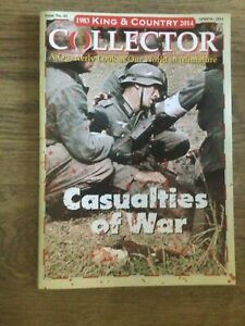 King & Country toy soldiers Collector Magazine No 41, Spring 2014