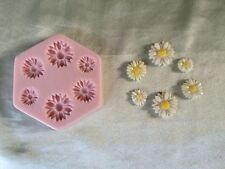 Daisy Silicone Mold (SM-164) for Cake Decorating, Fondant, Gum Paste