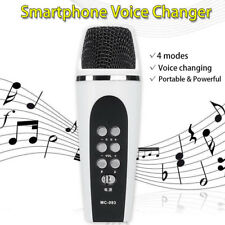 4Mode Voice Changer Microphone For Iphone Apple Smartphone Cellphone PC Android