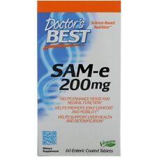 SAM-e (S-Adenosyl-L-Methionine) 200ml By Doctors Best 60 Enteric Coated Caps