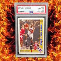 🔥 1991 Upper Deck #69 🔥 Michael Jordan PSA 10 GEM MT Bulls HoF GOAT 🔥