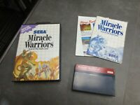 Miracle Warriors: Seal of the Dark Lord (Sega Master, 1988)  Complete in Box -