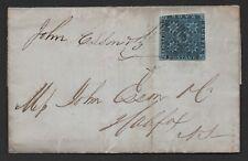 $ Nova Scotia Sc#3 on 1857 cover