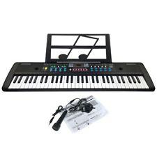 JJPRIME 61 Keys Digital Electronic Keyboard & Microphone Electric LED Music