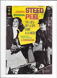 AVENGERS #1 [1968 GD-VG] PHOTO COVER!   ABC TELEVISION
