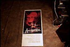 Apocalypse Now 1979 Orig 14X36 Movie Poster As Is Marlon Brando