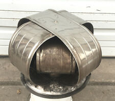 Galvanized Metal Chrome Barn Roof Architectural Industrial Air Vent Steampunk