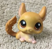 Littlest Pet Shop  #340 Tan Brown Chinchilla Brown Eyes 2007