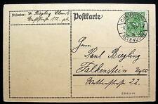 GERMANY POSTCARTE CHEMNITZ ALTENDORF 6-3-1923