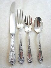 Romaine by Reed & Barton Sterling Silver Regular Size Place Setting(s) 4pc