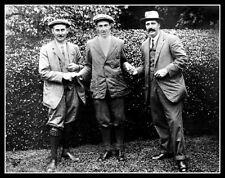 Francis Ouimet Harry Vardon Ted Ray Photo 11X14 -  1913 US Open British American