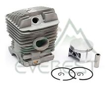 Cylinder Head Piston Kit For Stihl 034s 036 MS360 48mm Piston Pin Rings Circlips