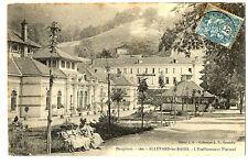 CPA 38 Isère Allevard-les-Bains Etablissement Thermal animé