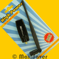 300 Mbit/s wlan stick usb N-Draft sans fil N Adaptateur Dongle sma rp-sma + Antenne