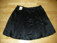 Womens OLD NAVY Pleated Black Polyester Skirt Sz 12 NwT